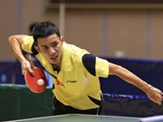 Athletes to compete at Hanoi Open table tennis