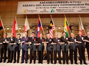 Tokyo celebration marks 50th anniversary of ASEAN