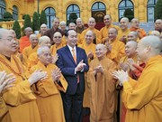 President Tran Dai Quang hails Buddhist congress success
