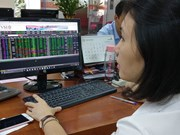 Shares rise amid growing caution