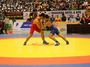 Southeast Asia wrestling championship opens in Bac Ninh