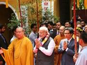 Vietnam Buddhism strengthens external affairs