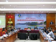 Workshop discusses sustainable irrigation development
