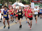 Over 5,000 runners join HCM City International Marathon