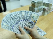 Reference exchange rate goes up 1 VND at week's beginning