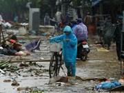 UN helps Vietnam surmount typhoon Damrey consequences