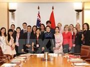 NA Chairwoman meets Australian students