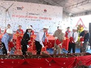 Work on 66 million USD wind power plant starts in Ben Tre