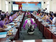 Long An, Cambodia's Svay Rieng women join hands to protect border