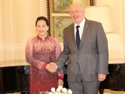 NA Chairwoman meets Australian Governor-General