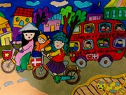 Danish Embassy in Vietnam awards winners of children painting contest