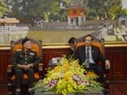 Lao veterans welcomed in Hanoi