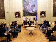 Vietnam, Italy agree to boost friendship, legislative ties