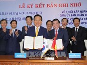 Ho Chi Minh City, RoK province establish ties