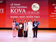 KOVA Prize 2017 honours groups, individuals in applied science