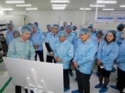 Samsung seeks more Vietnamese part suppliers