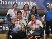 Vietnam bags two more medals at World Para Swimming Championships