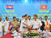 Vietnam, Cambodia review joint patrols at sea