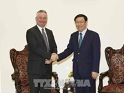 Vice Chair of EP's Int'l Trade Committee welcomed in Hanoi