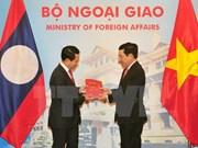 Vietnam-Laos ministerial-level consultation held in Hanoi