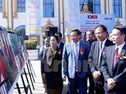 Photo exhibition on Vietnam-Laos relations opens in Vientiane