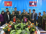 War veterans of Vietnamese, Lao provinces intensify cooperation