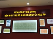 Exhibition showcases old documents on French culture in Hanoi