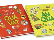 Two-volume art book features Vietnamese cuisine