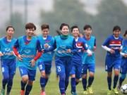 Vietnam to face tough task at Asian Women's Cup