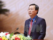 Le Quoc Phong re-elected 11th HCYU Central Committee first secretary