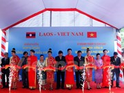 Vietnam helps Laos build printing factory