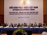Vietnam Development Forum seeks to increase productivity