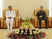 Army chief commits support to Vietnam-Cambodian naval ties
