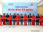 Photo exhibition features sea, islands in Hanoi