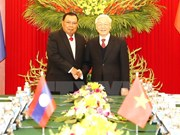 Vietnamese, Lao leaders emphasise special relations