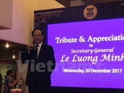 Le Luong Minh to conclude ASEAN Secretary General tenure