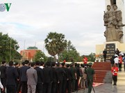 Vietnamese fallen soldiers commemorated in Cambodia