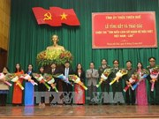 Thua Thien-Hue: winners of Vietnam-Laos ties contest honoured