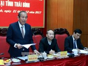 Thai Binh urged to focus on socio-economic development