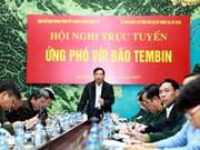 Vietnam braces for typhoon Tembin