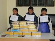 Various drug trafficking cases discovered