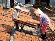 Farmers prepare special food for lunar New Year