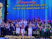 HCM City honours ten outstanding young people of 2017