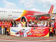 VietJet receives first A321neo aircraft