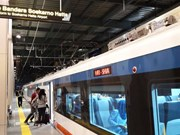 Indonesia launches train to Soekarno-Hatta airport