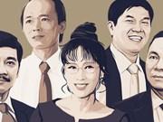 Five largest families own assets worth 12.2 billion USD