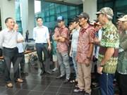 Indonesia repatriates Vietnamese fishermen ahead of lunar New Year