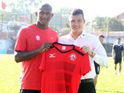 HCM City get third foreign player in team