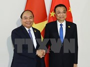 PM meets Chinese counterpart in Phnom Penh