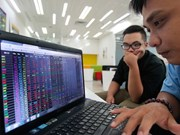 Vietnam's shares up on earnings prospects